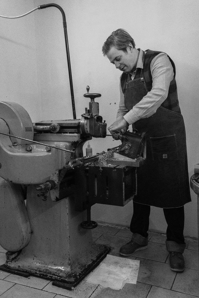 craftsmen working on mental